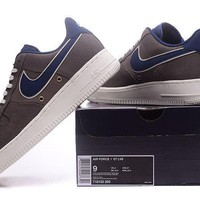 Nike Air Force 1 07 LV8 Brown For Women Men Running Sport Casual Shoes Sneakers