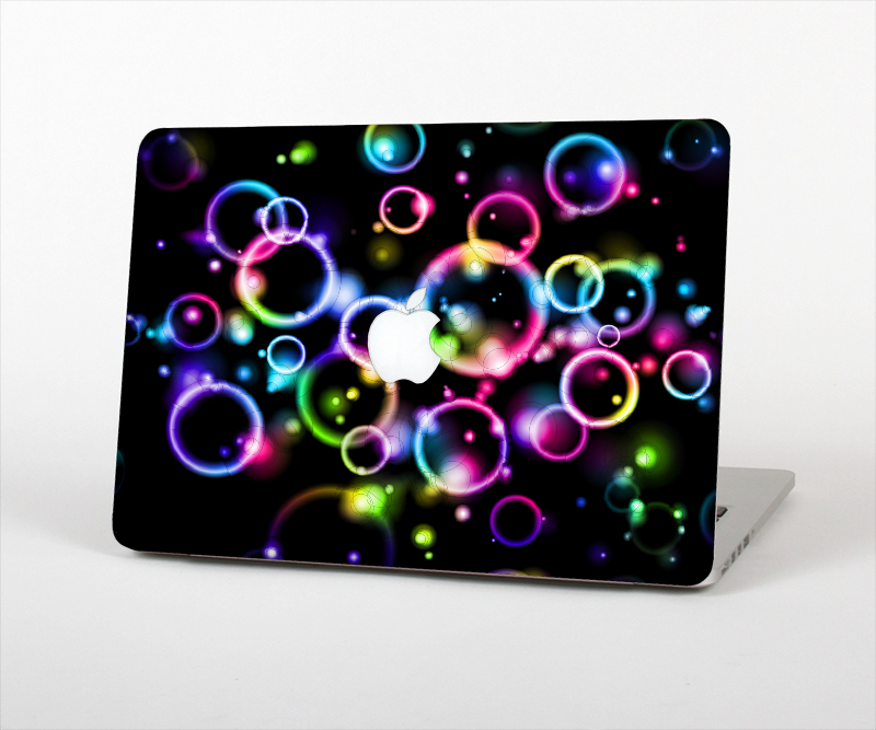 """Image of The Glowing Neon Bubbles Skin Set for the Apple MacBook Air 11"""""""
