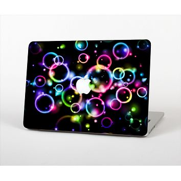 """The Glowing Neon Bubbles Skin Set for the Apple MacBook Air 11"""""""