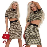 FENDI Two Pieces Top Skirt
