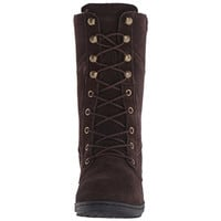 Northside Womens Cece Suede Waterproof Lace-Up Boot