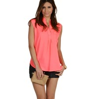 Coral Everyday Everywhere Blouse