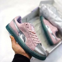 Puma x Sophia Webster Psychedelic shiny party series of girls' casual shoes