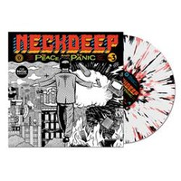 The Peace And The Panic White W/ Black And Red Splatter : HLR0 : MerchNOW - Your Favorite Band Merch, Music and More
