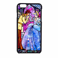 Cinderella Disney Stained Glass iPhone 6 Case