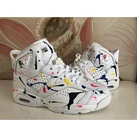 Air Jordan 6 Retro Graffiti White
