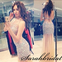 Sexy Champagne Short Homecoming Prom Cocktail Mini Backless Party Dress Ball Gown