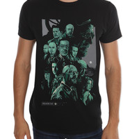 Breaking Bad Character Collage T-Shirt   Hot Topic