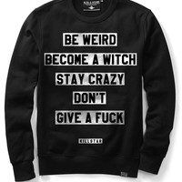Motto Sweatshirt [B]