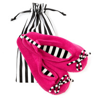 One Kings Lane - The Cashmere Shop - Cashmere Slippers, Bright Pink