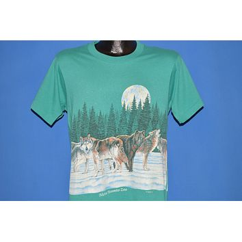 90s Wolves Metro Toronto Zoo t-shirt Medium