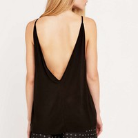 The Fifth Play It Right Black Tank Top - Urban Outfitters