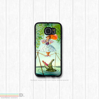 Haunted Mansion Painting, Custom Phone Case for Galaxy S4, S5, S6