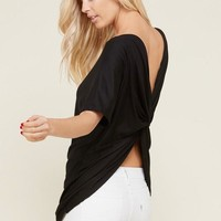 The Sassy Open Back Top