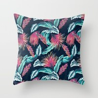 vibes; Throw Pillow by Pink Berry Patterns
