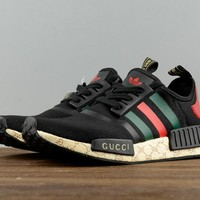 GUCCI Adidas NMD Fashion Women/Men Casual Running Sport Shoes (Limited edition) H Z