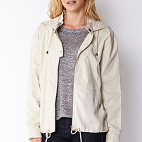 LOVE 21 Chic Safari Parka Cream