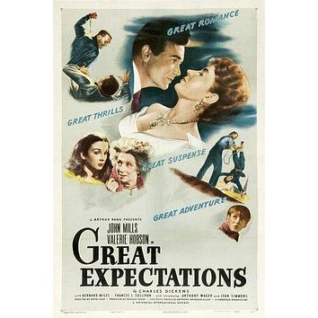 Great Expectations Poster//Great Expectations Movie Poster//Movie Poster//Poster Reprint
