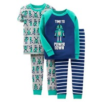 Just One You™ Made by Carters® Toddler Boys Robot Pajama Set