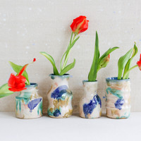 Watercolor Vases - Gang Two