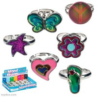 Cutie Mood Rings - Toysmith - Pack of 30 ea
