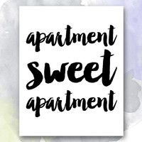 Apartment Sweet Apartment Print