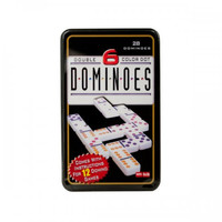 Double-six Color Dot Dominoes Game Set