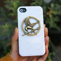 catching fire iphone 5 case mockingjay pin iphone 5c iphone 4 case mockingjay jewelry iphone 5s case catching fire iphone case