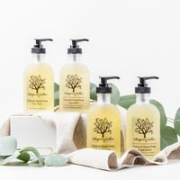 Natural Hand Soap - Glass Pump
