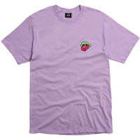 Satisfaction Embroidered T-Shirt Light Purple