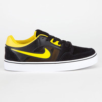 Nike Sb Ruckus 2 Lr Boys Shoes Black/Tour Yellow/White  In Sizes