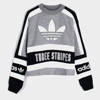 Adidas Paris Long-Sleeved Crop T-Shirt