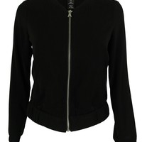 Style & Co. Women's Zip-Front Bomber Jacket