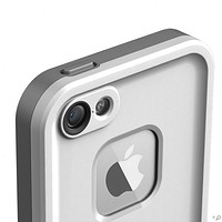 The White LifeProof Fre Case for the iPhone 5