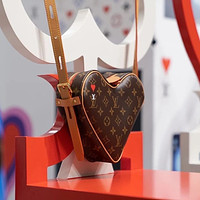 LV 2021 early spring new classic presbyopia love heart bag