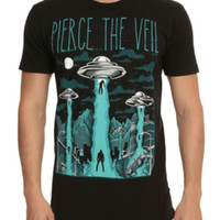 Pierce The Veil Alien Abduction T-Shirt