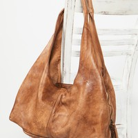 Free People Fiore Distressed Hobo