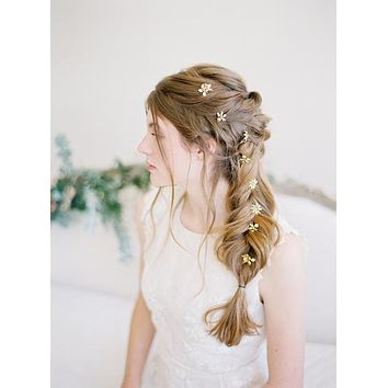 Pin Me Up | Little Blossom Hair Pins -Wedding Hair Sticks