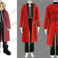 Anime Fullmetal Alchemist Edward Elric Cosplay by AnimeGift