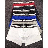 Versace Trending Men Stylish Pure Cotton Underwear(6-Color) I12806-1