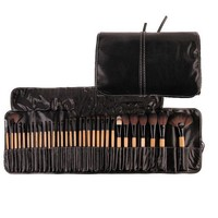 CREYON3R Stock Clearance !!! Free Shipping DHL/EMS 5Sets/Lot 32Pcs Print Brand Logo Makeup Brushes Professional Cosmetic Make Up Set
