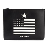 Givenchy Flag Print Clutch - Mantovani - Farfetch.com