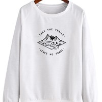 Take The Trails Leave No Trace V2 - Crew Sweatshirt (Pre-Order)