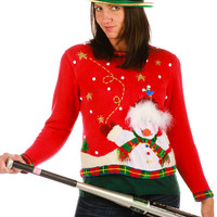 Snowmen Funnies Ugly Christmas Sweater
