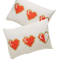 ModCloth Nifty Nerd Next Level Snoozing Pillow Sham Set