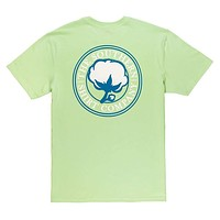 Signature Logo Tee in Pistachio Green by The Southern Shirt Co.