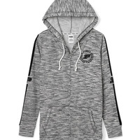 Purdue University Full-Zip Tunic Hoodie