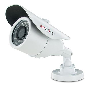Spyclops SPY-MINBULLETW2 CCTV INDOOR/OUTDOOR Bullet Style Security Camera, White