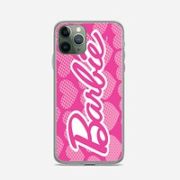 Barbie Pink Logo Cover iPhone 11 Pro Max Case