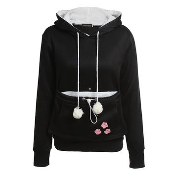 Hoodies With Cuddle Kangaroo style Pullovers Sweatshirt